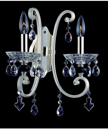Shown In Two-tone Silver and Clear Firenze Crystal