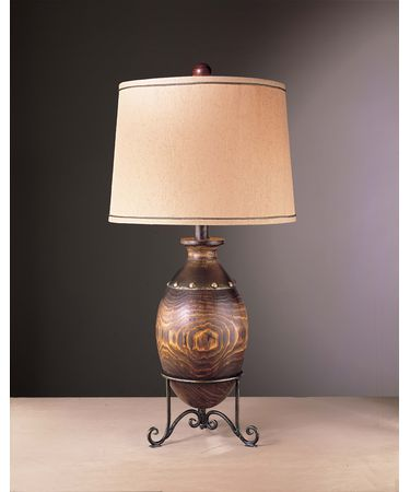 Shown in Burnished Walnut with Iron finish