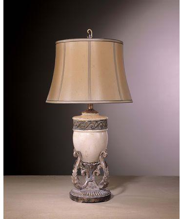 Shown in Antique White Ceramic with Antique Iron finish