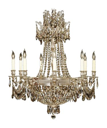 Shown in Silver finish with Strass Golden Teak crystal