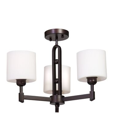 Shown in Hand Rubbed Oil Bronze finish, Oval - Opal and Ribbed glass and Mesh Metal Chrome shade