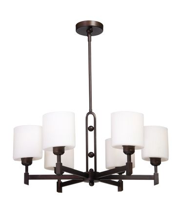Shown in Hand Rubbed Oil Bronze finish and Oval - Opal and Ribbed glass