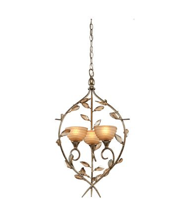 Shown in Bronzed Gold finish, Amber glass and Black Fabric shade