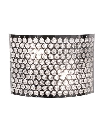 Shown in Chrome finish, Egyptian Crystal Jewels crystal and Glass Jewels accent