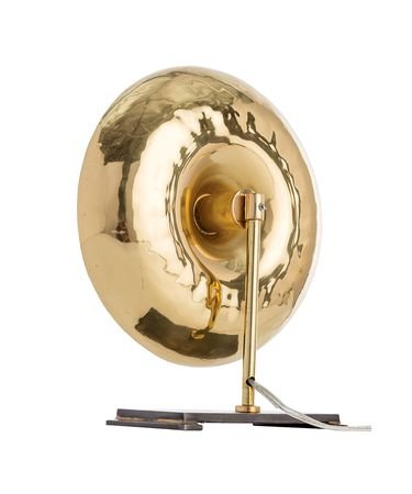 Shown in Polished Brass-Natural Iron finish