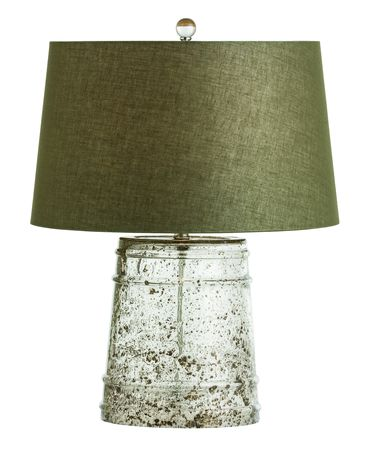 Shown in Sand Infused Glass finish, Clear glass and Vertiver Green shade