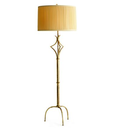 Shown in Gold finish and Rose glass