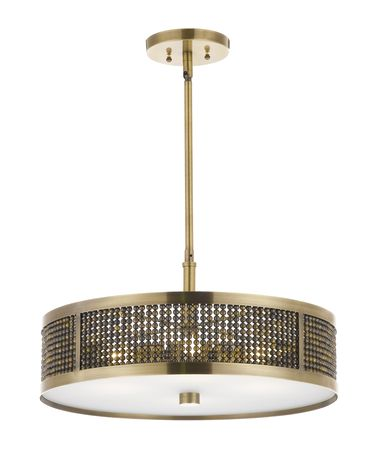 Shown in Plated Antique Brass finish