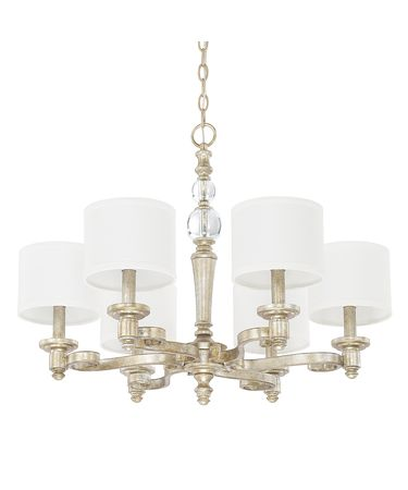 Shown in Gilded Silver finish