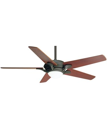 Shown in Oil Rubbed Bronze finish with Optional Dark Cherry blades