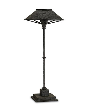 Shown in Smoke Black-Antique Mirror finish and Metal-Antique Mirror shade