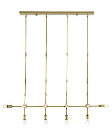 Shown in Brass finish