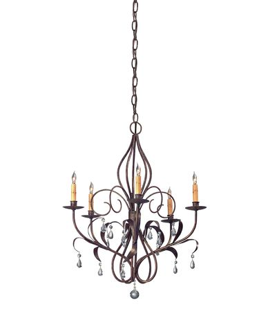 Shown in Venetian finish and Crystal Drops accent