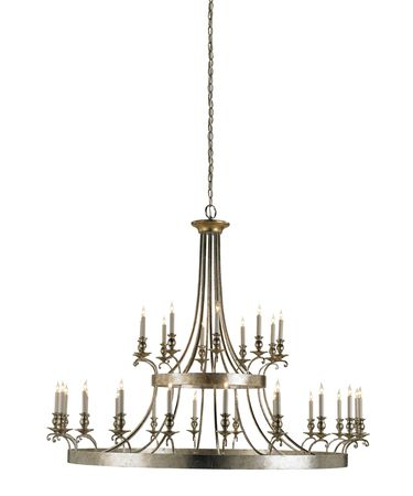 Shown in Granello Silver Leaf-Antique Gold Leaf finish
