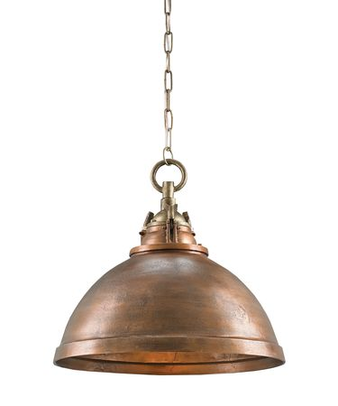 Shown in Copper-Antique Brass finish