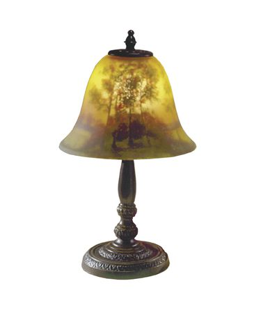 Dale Tiffany 10010-604 Handle Garden 14 Inch Table Lamp
