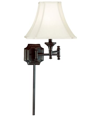 Shown in Burnished Bronze finish and Cream Cut Corner shade