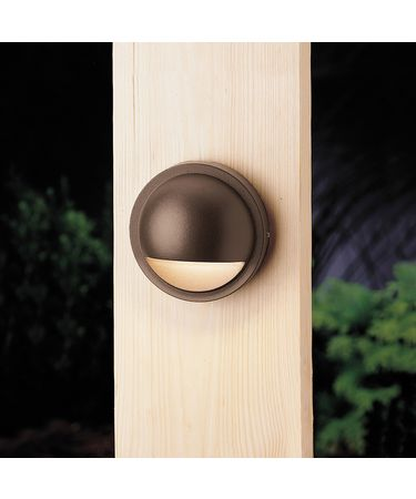 Shown in Textured Architectural Bronze finish and Satin Etched glass