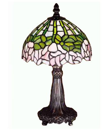 Shown in Mahogany Bronze finish and Passion Pink-Bronzed Green-Opal glass