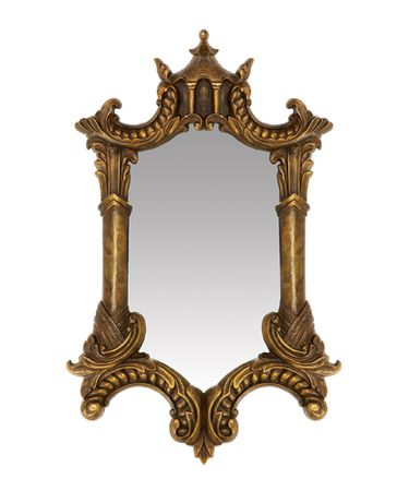 Sterling Industries 26-5353M Gold Plume Mirror