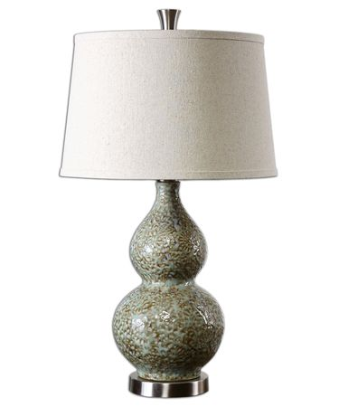 Shown in Pale Green-Ivory Glaze finish