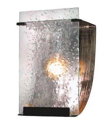 Shown in Rainy Night finish and Hand-Pressed Rain glass