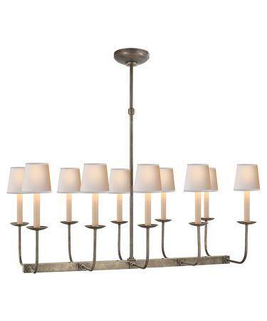 Shown in Antique Nickel finish and CHSNP Shades Sold Separately shade