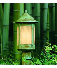 Arroyo Craftsman BP-6 Berkeley 1 Light Outdoor Post Lamp
