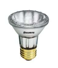 Bulbrite H35PAR20NS 35 Watt 120 Volt Clear PAR20 Halogen Narrow Spot Bulb