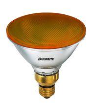 Bulbrite H90PAR38A 90 Watt 120 Volt Amber PAR38 Halogen Bulb