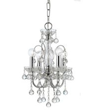 Crystorama 3324 Imperial 14 Inch Mini Chandelier