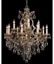 Crystorama 4413 Maria Theresa 28 Inch Chandelier