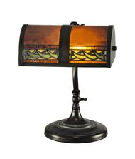 Dale Tiffany TA100682 Egyptian 14 Inch Desk Lamp