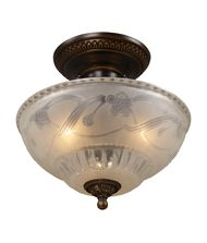 Landmark Lighting 08098 Restoration 11 Inch Semi Flush Mount
