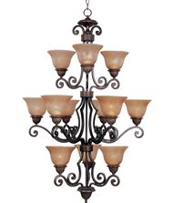 Maxim Lighting 11238 Symphony 30 Inch Chandelier