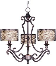 Maxim Lighting 21153 Mondrian 25 Inch Chandelier