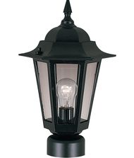 Maxim Lighting 3001 Builder Cast 1 Light Outdoor Post Lamp