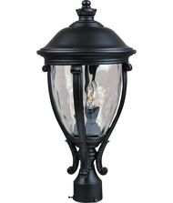 Maxim Lighting 41421 Camden VX 3 Light Outdoor Post Lamp