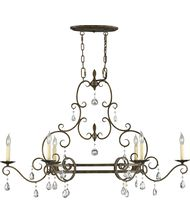 Murray Feiss Chateau 42 Inch Wide Island Light Capitol