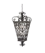 Quoizel FQ1931 Fort Quinn 8 Light Outdoor Hanging Lantern