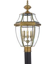 Quoizel Newbury 3 Light Outdoor Post Lamp