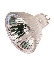 Satco S2616 20 Watt 12 Volt MR16 Bi Pin Hard Coated Dichroic Reflector Halogen Bulb